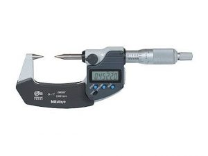 Mitutoyo 342-361 0-1 Digital Point Micrometer