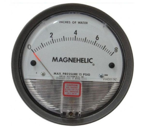 Dwyer Differential Pressure Gauge P/N 2008