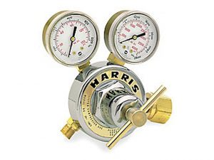 Used Harris 25-100C-540 Oxygen Regulator