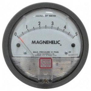 Dwyer Differential Pressure Gauge P/N 2005
