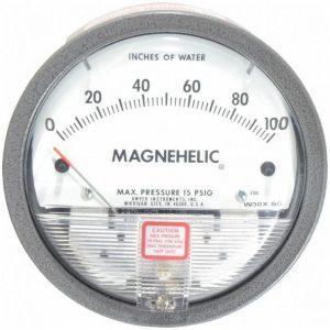 Dwyer Differential Pressure Gauge P/N 2100