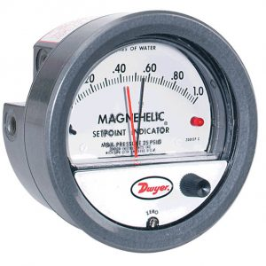 Dwyer Differential Pressure Gauge P/N 2202