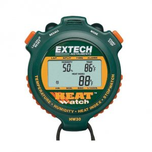 Extech HW30 Humidity/Temperature Stop Watch