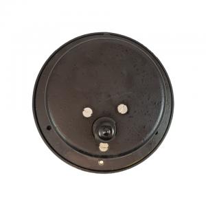 Used Texas Gauge Co 5000 PSI Pressure Gauge Back